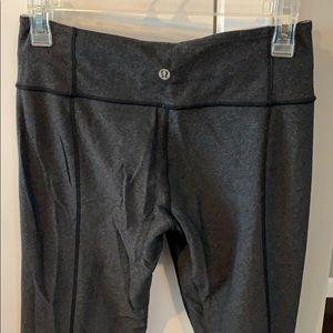 lululemon athletica Pants - Reversible gray lululemon yoga pants